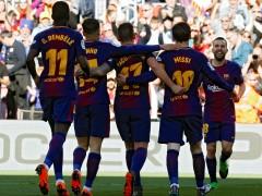 El Barça da jaque... ¿mate? a la Liga