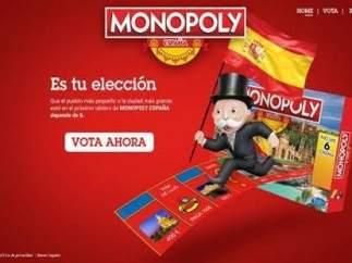 Imagen de la votación para el Monopoly