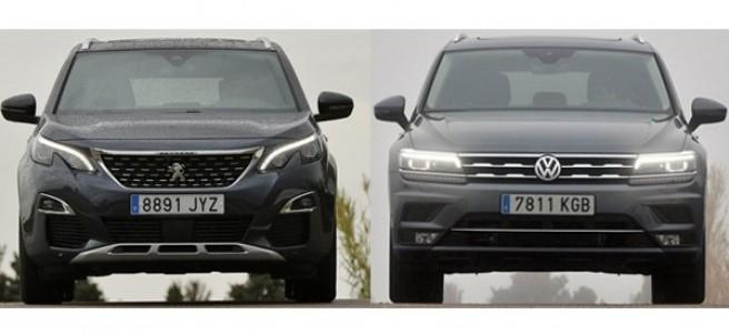 Peugeot 5008 vs. Volkswagen Tiguan