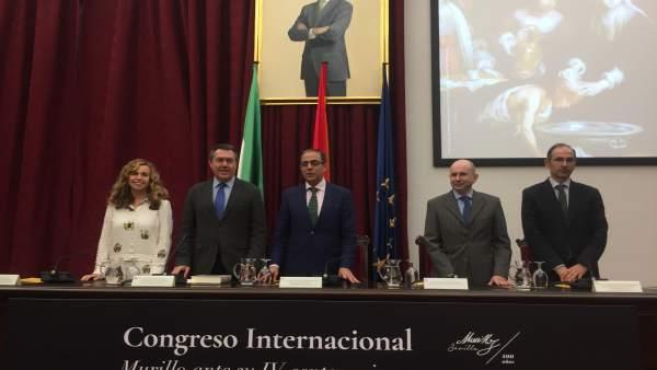 Inauguración del congreso internacional sobre Murillo en la capital