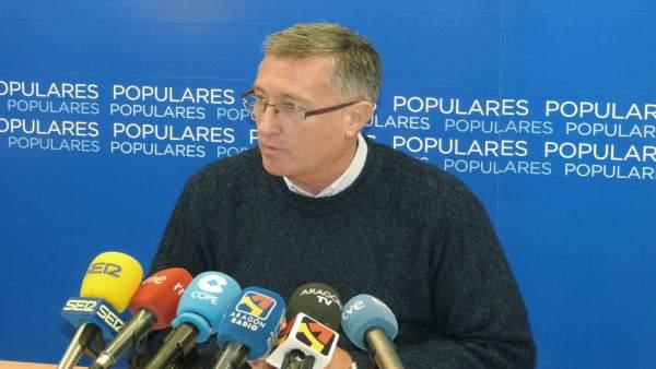 El diputado del Partido Popular en el Congreso, Manuel Blasco.