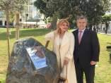 La baronesa Thyssen y el alcalde de Estepona