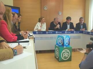 Reunión PP sindicatos