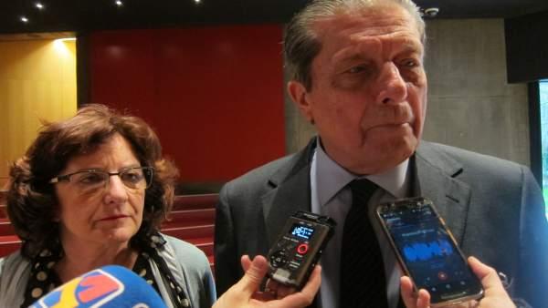 María Victoria Broto y Federico Mayor Zaragoza, esta tarde en CaixaForum