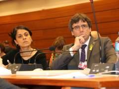 Puigdemont coincide con Gabriel en Ginebra y viajará el jueves a Finlandia