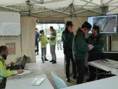 Dispositivo de búsqueda del guardia civil en Guillena