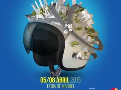 Cartel del Salón de la Moto de Madrid