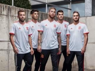 Segunda camiseta de España