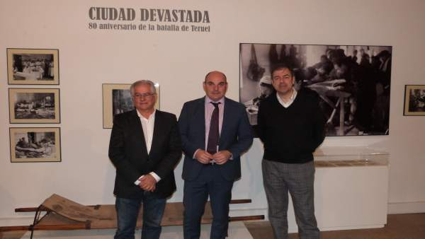 Presentación de la exposición sobre la Batalla de Teruel