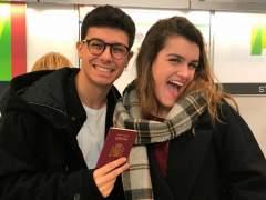 Amaia y Alfred ya recorren las Azores para grabar su postal de Eurovisión