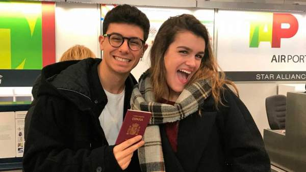 Amaia y Alfred preparados para su viaje a las Azores, donde grabarán el vídeo que antecederá su actuación en Eurovisión 2018.