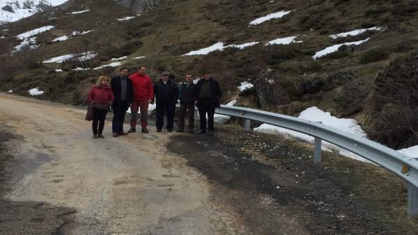El Psoe De León Reclama Presupuesto Para El Arreglo De La Carretera De Vilamanín