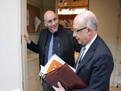 Navarrete entregant la carta a Montoro
