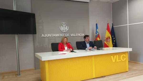 """Cs critica que la imatge projectada per València """"no concorda"""" amb la declaració de Patrimoni per la Unesco"""
