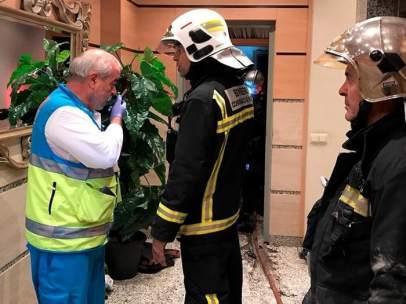 Mueren dos niños en un incendio en una vivienda de Getafe