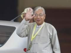 """Dimite el presidente de Birmania para """"descansar"""""""