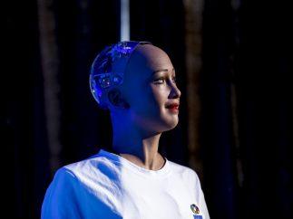 Conferencia robot