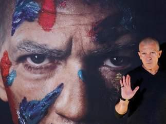El actor malagueño Antonio Banderas, durante la presentación de la serie 'Genius', dedicada a la vida y obra del pintor universal Pablo Picasso.