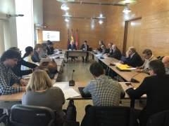 Mesa del Transporte, presidida por Eduardo Martínez-Oliva
