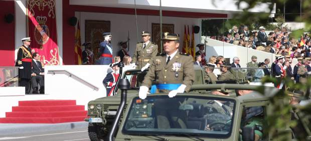 Desfile de las Fuerzas Armadas en el Día de la Hispanidad, el 12 de octubre