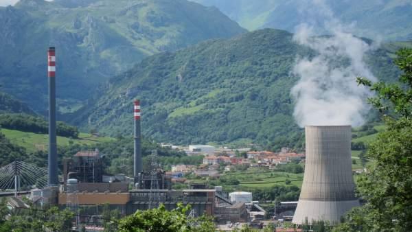 Central Térmica De HC En Soto De Ribera