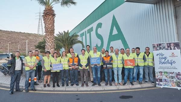 #YosoyTenerife llega a los conductores de Titsa para que se conviertan en embajadores turísticos