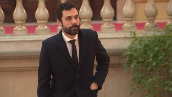 Roger Torrent, presidente del Parlament.