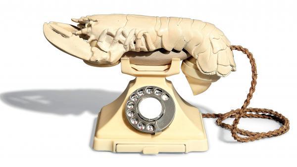 teléfono langosta Dalí