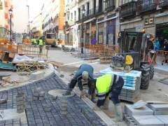 Las obras toman el centro de Madrid durante todo este año