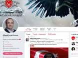 Captura de pantalla de la cuenta de Miquel Iceta en Twitter tras se hackeada.