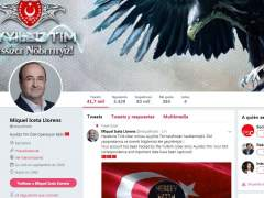 Hackean la cuenta de Twitter de Iceta durante el pleno de investidura