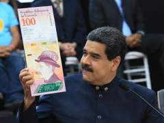 Maduro decide combatir la crisis quitándole tres ceros al bolívar
