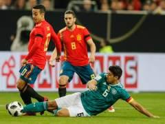 España empata ante Alemania en un partido muy igualado