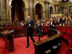"""El PP se marcha del pleno del Parlament por verlo """"fraude de ley"""""""