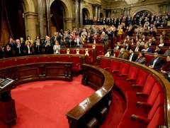 Pleno sin votación y lleno de tensión tras la encarcelación de Turull