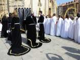 Archivo.- Celebración de la procesión de las Palmas en Palencia