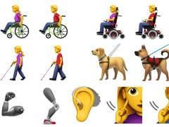 Nuevos 'emojis' para representar a las personas con discapacidad