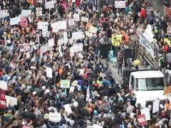 Miles de personas, contra las armas de fuego UU