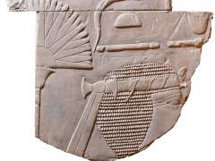 Descubren una cabeza de faraón durante una práctica estudiantil