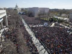 Un millón de estudiantes piden un mayor control de las armas en EE UU