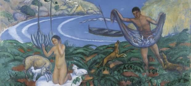 Joaquim Sunyer. Mediterráneo, c. 1910-1911