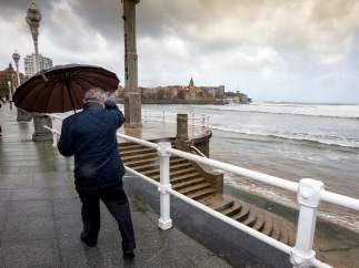 Temporal en Asturias