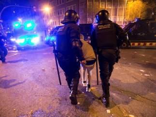Un detenido en Barcelona