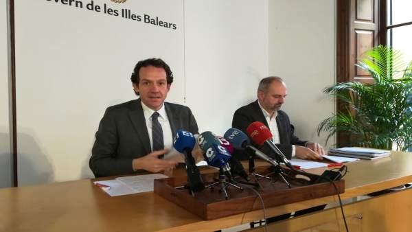 Marc Pons, conseller de Territorio, Energía y Movilidad