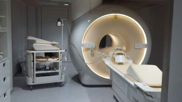 Uno de los TACs del nuevo hospital IMED Valencia