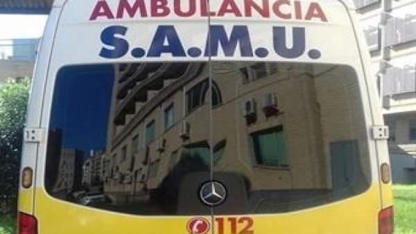 Imagen de una ambulancia SAMU