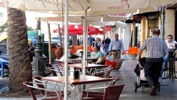 Veladores en Huelva