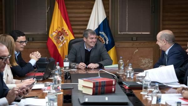 Clavijo preside el Consejo de Gobierno de este lunes