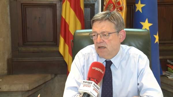 """Puig diu """"transvasament Tajo-Segura ja"""" i demana recursos per a modernització i suport a CCAA per a reutilitzar aigüa"""