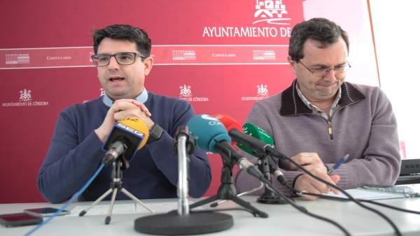 Pedro García con Juan Andrés de Gracia